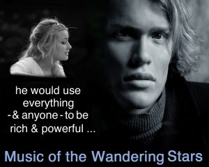 Music of Wandering Stars Postcard